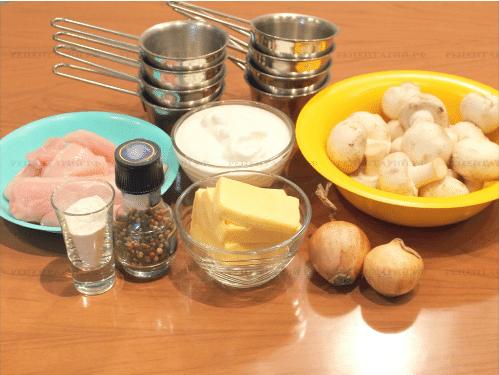 Как приготовить жульен с курицей и грибами в домашних условиях