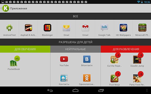 Мобильное приложение KidRead для детей и родителей