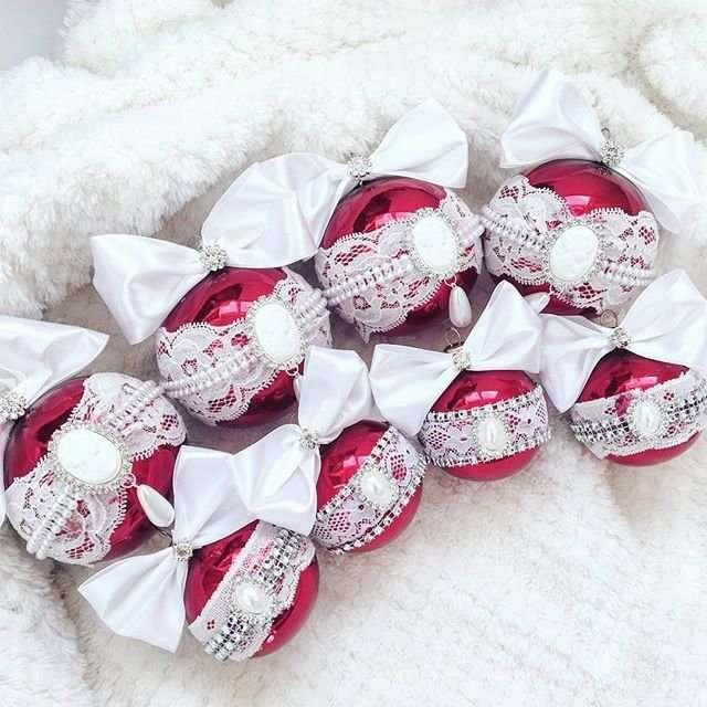 Ёлочные шары для самой новогодней ёлки