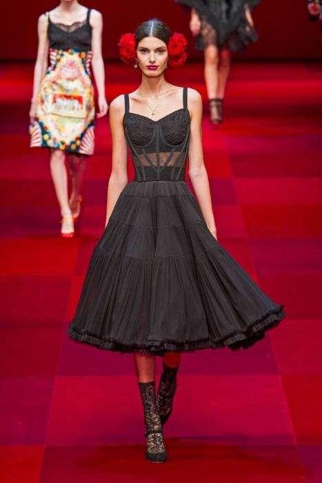 Dolce & Gabbana представили коллекцию весна-лето 2015