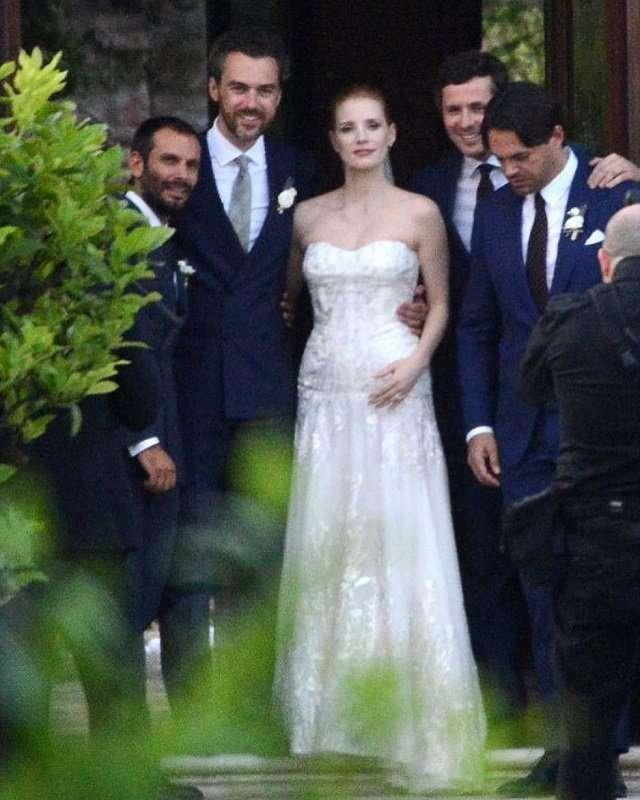 Джессика Честейн вышла замуж за итальянского графа