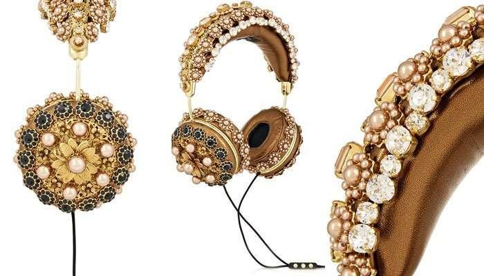 Наушнички «а-ля рюс» от Dolce & Gabbana
