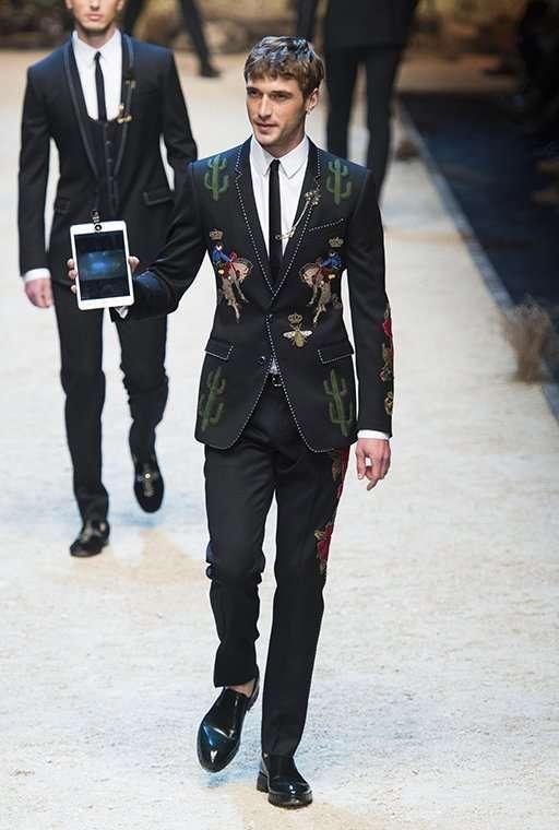Мужская коллекция Dolce & Gabbana, осень-зима 2016/2017