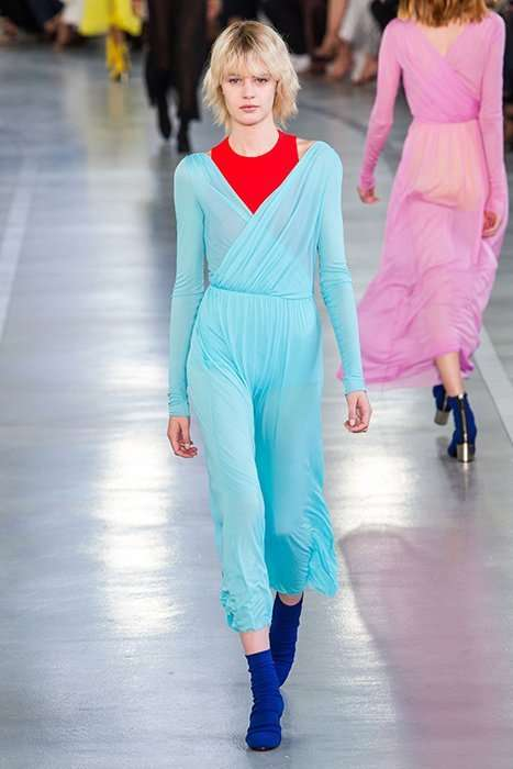 Коллекция Emilio Pucci, весна-лето 2017: цветное безумие