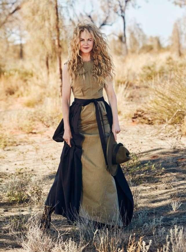 Николь Кидман на обложке Vogue Australia