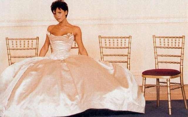 Свадебные фото Виктории Бекхэм