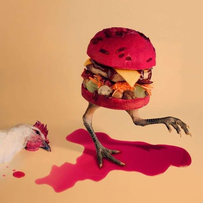Оригинальные бургеры в проекте Fat & Furious Burger
