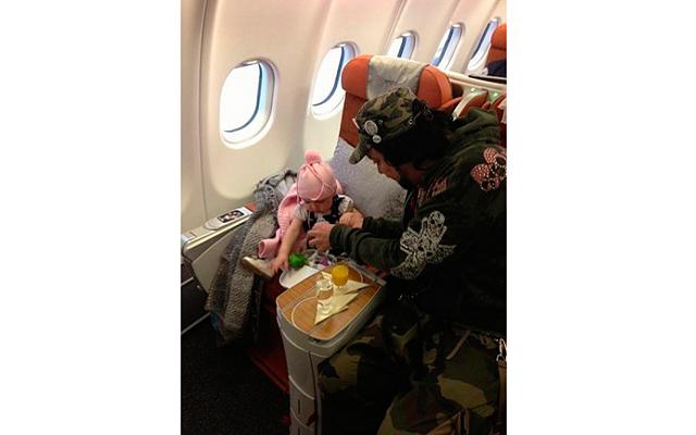 Киркоров показал фото своей годовалой дочери