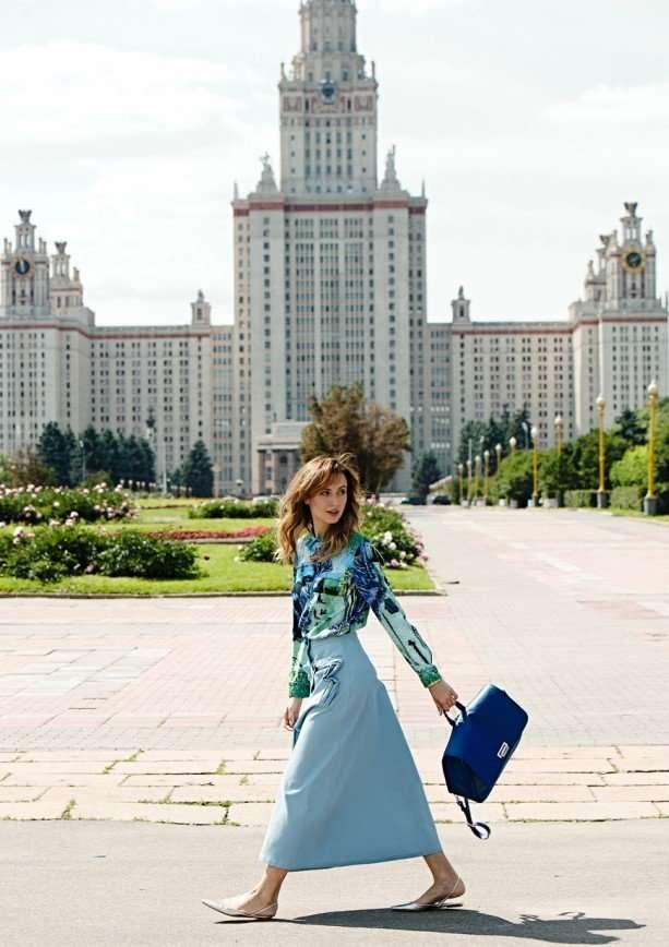 Наталья Османн в съемке для DressOne