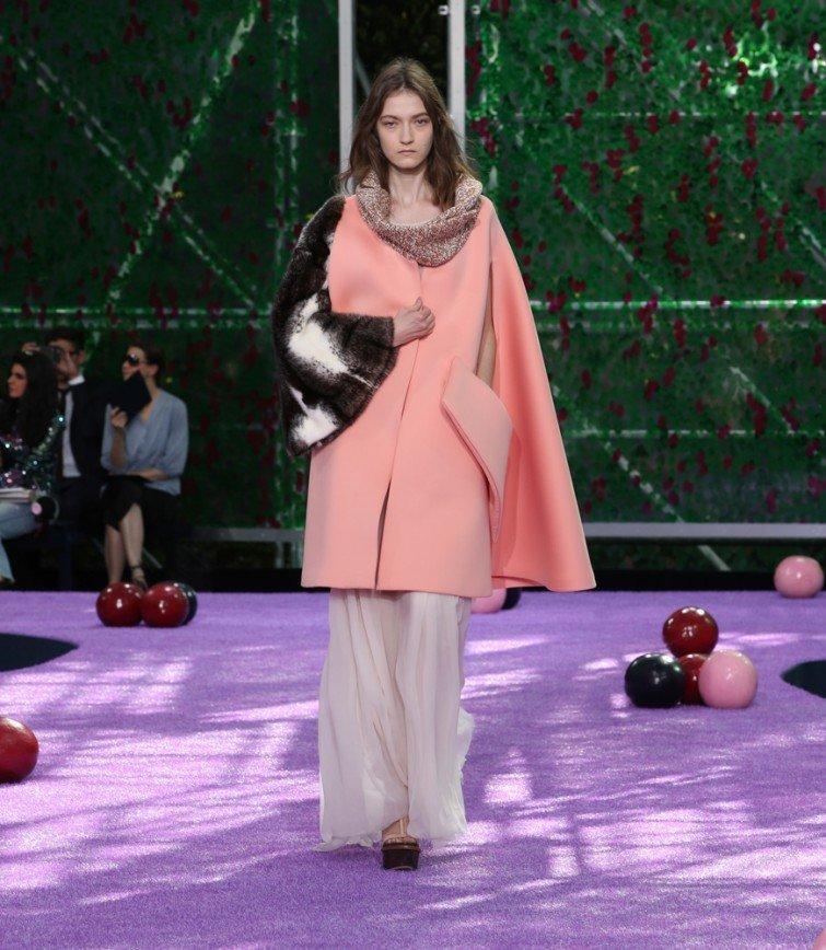 Показ Dior Couture осень-зима 2015-2016