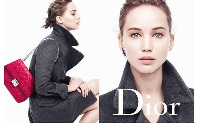 Дженнифер Лоуренс в рекламной кампании Miss Dior осень-зима