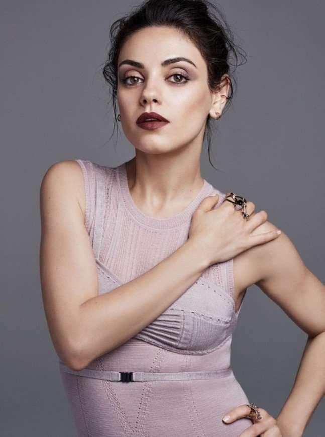 Мила Кунис для журнала American Glamour