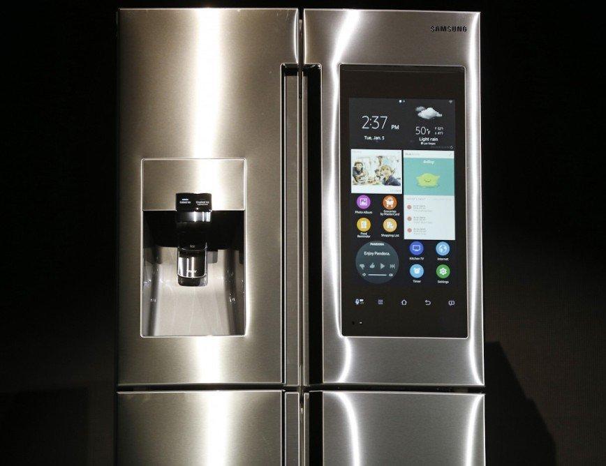 Холодильник Samsung Family Hub на CES 2016
