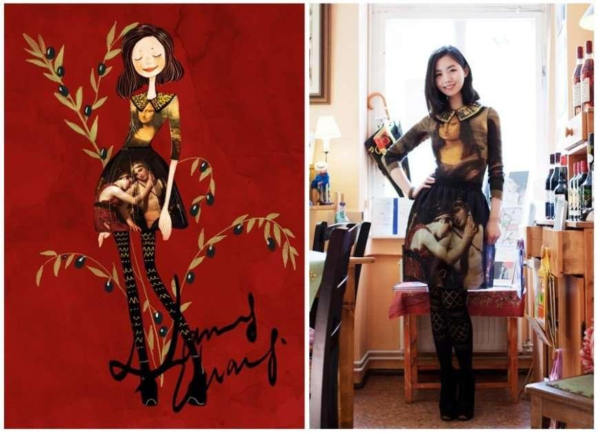 Мода и искусство от Нэнси Чжан