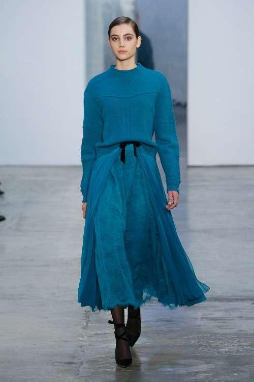 Коллекция Carolina Herrera осень-зима 2017