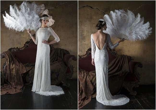 Свадебные платья в стиле Гэтсби от Gill Harvey 2016