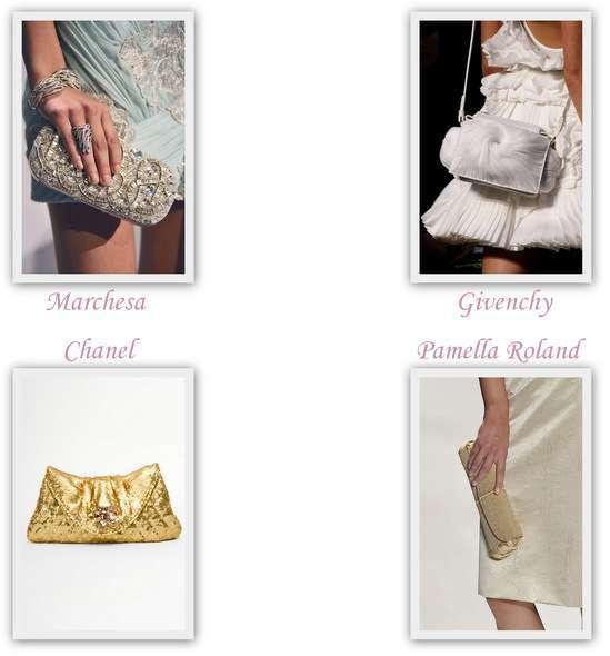 e796d06e15d83e Вашій увазі модний фото-підбірка сумочок і калтчей ідеально підходять для  весільної церемонії. Білі і сріблясті кольори, вишуканий дизайн, святкове  сяйво.