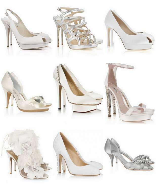 bbf6e0eb846da3 Весільні туфлі 2011 на фото - Vitalira